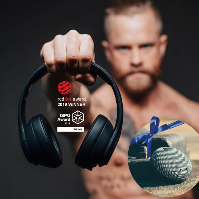 Miiego Boom headset & aXtive M1 højtaler