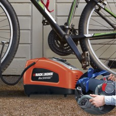 Black & Decker car vacuum cleaner og air compressor