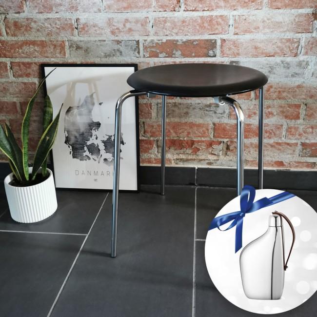 Arne Jacobsen DOT™ skammel & Georg Jensen hip flaske