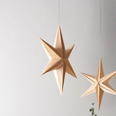 Villa Collection Star Decor 65 cm