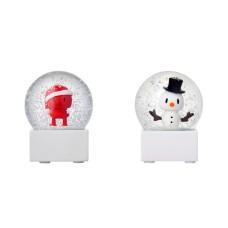 Hoptimist valgfri Small Snow Globe