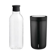 DRINK-IT vandflaske og To Go Click termokrus