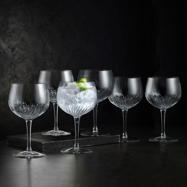 Luigi Bormioli Mixology Spanish gin & tonic glasses, 6 pcs