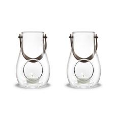 Holmegaard Design With Light lanternesæt (klar glas), 16 cm