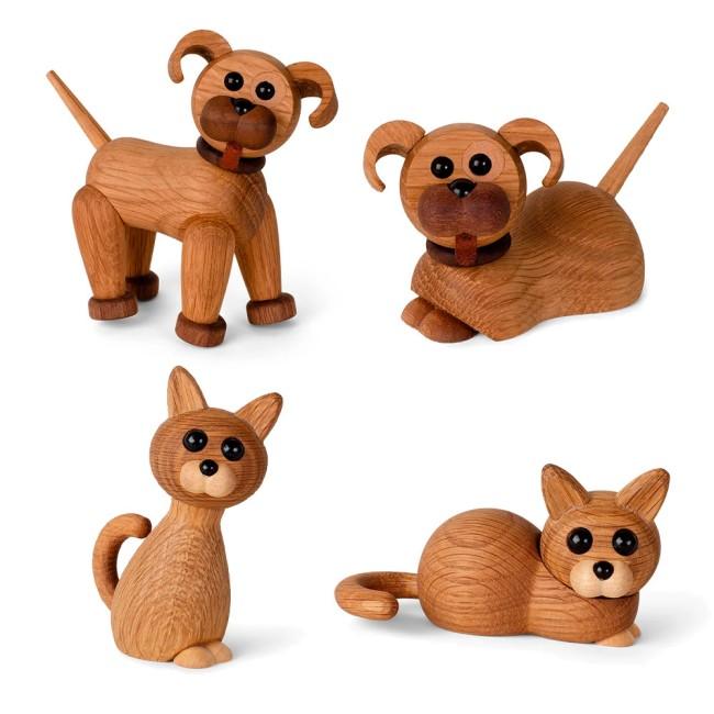 Spring Copenhagen træfigur - hunde og katte