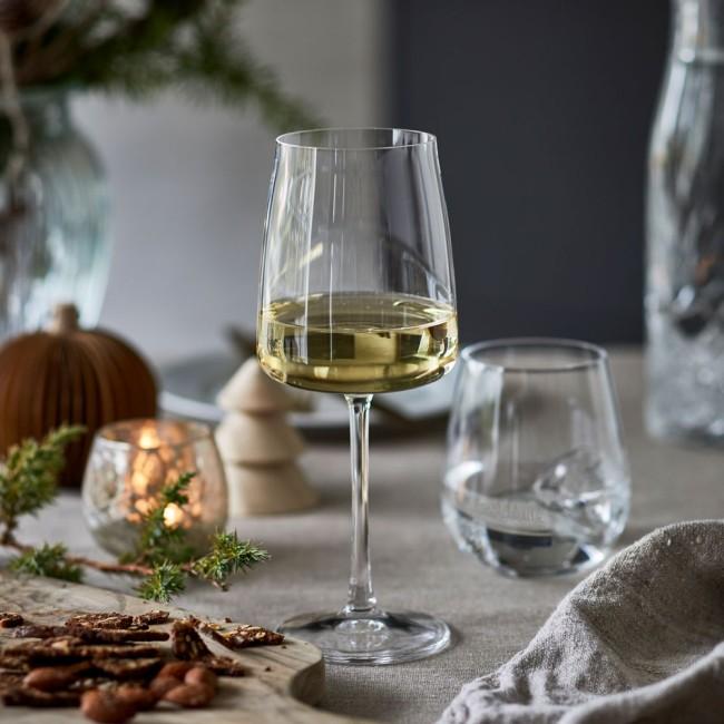 Lyngby Glas Zero hvidvinsglas, 12 stk.