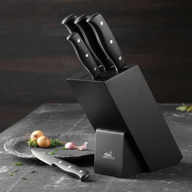 Lion Sabatier Mon Bloc knife block with 5 knives