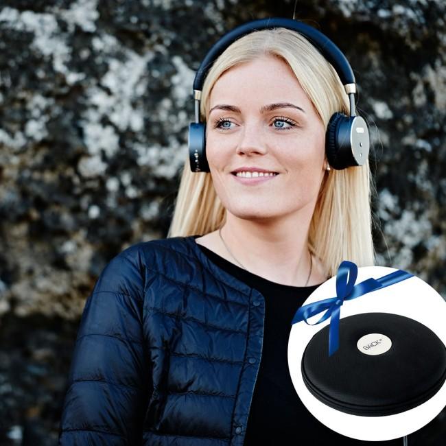 SACKit WOOFit hovedtelefoner inkl. cover