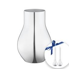 Georg Jensen Cafu Vase og lysestager