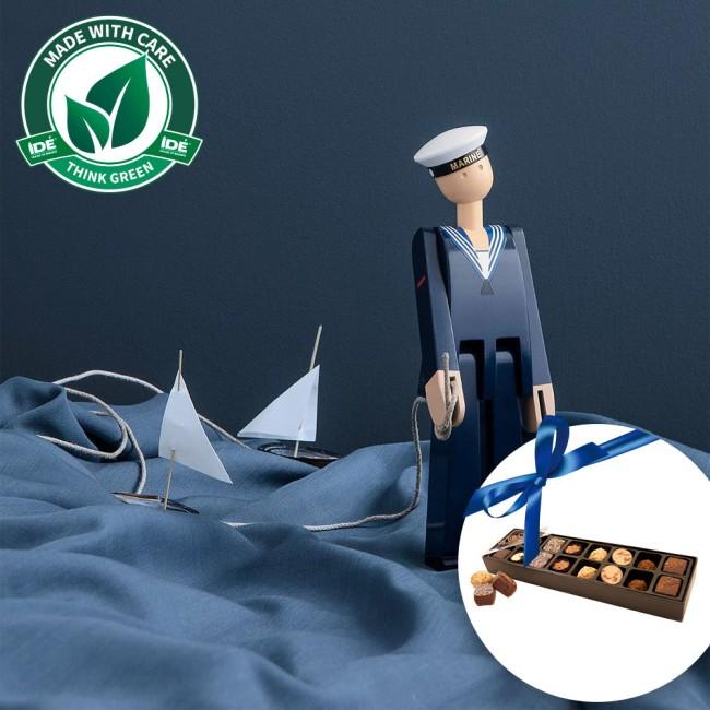 Kay Bojesen Marine og fyldte chokolader