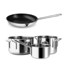 Eva Trio pot set and frying pan