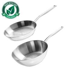 Fiskars All Steel Pure stegepande og wok