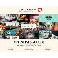 Gavekort GO DREAM 08