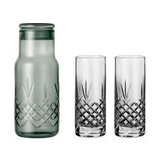 Frederik Bagger Crispy Dark Bottle (500ml) med 2 Highball glas