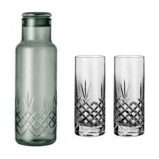 Frederik Bagger Crispy Dark Bottle (1000ml) med 2 Highball glas