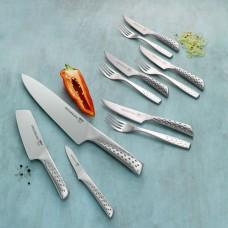 Weber knivsæt med 3 knive og bestik