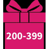 200 - 399 DKK