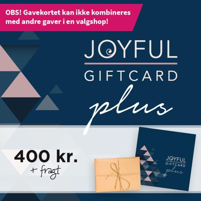 Joyful Gavekort til 400kr. gaveshop