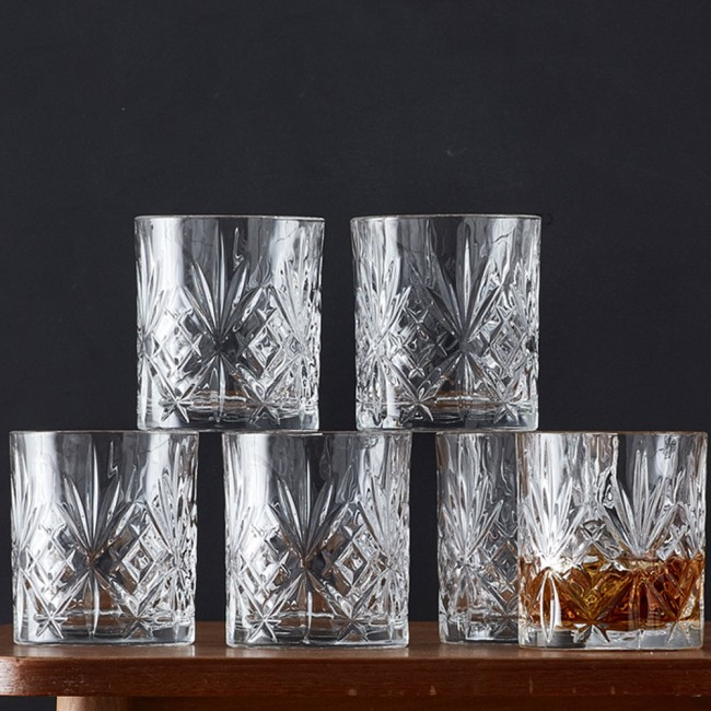 Lyngby Glass Melodia Whisky glass set
