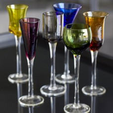 Lyngby Glass shots glass and chocolate balls