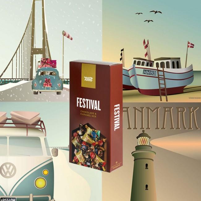 Visse Vasse poster and Toms Festival Mix