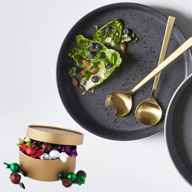 BITZ bowl and cutlery