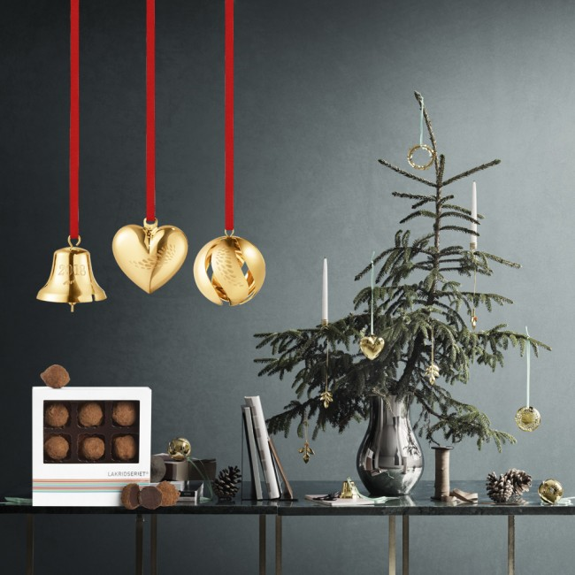 Georg Jensen Christmas Collectibles and liquorice