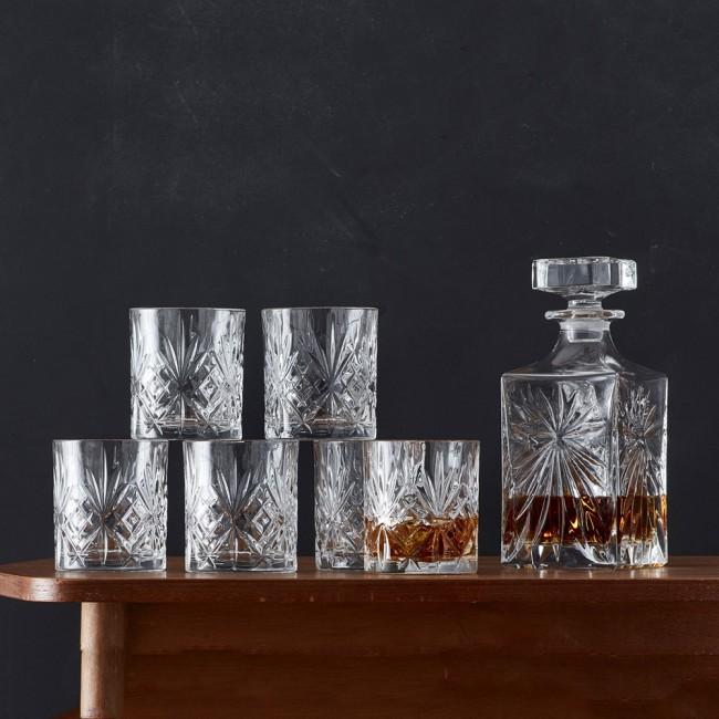 Lyngby Glas Melodia Whiskeysæt