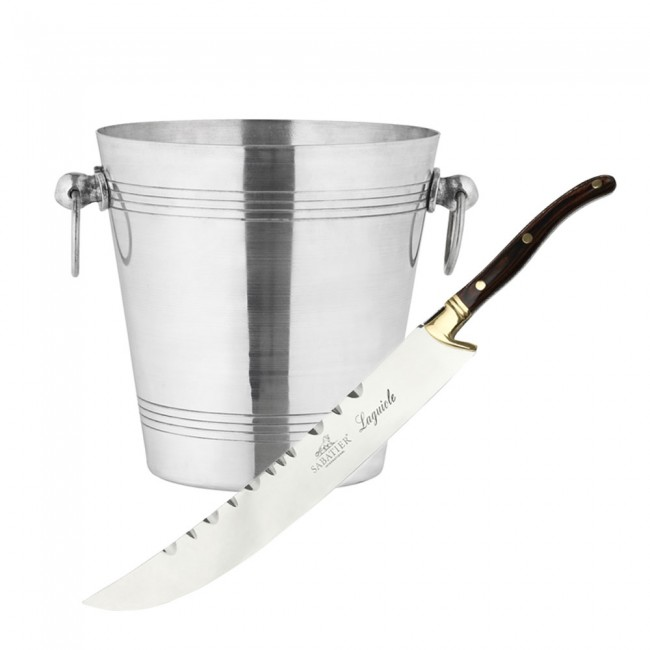 Champagne sword and wine cooler