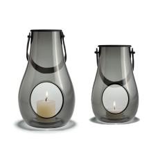 """Holmegaard """"Design With Light"""" Lanterne sæt, 25 cm og 16 cm"""