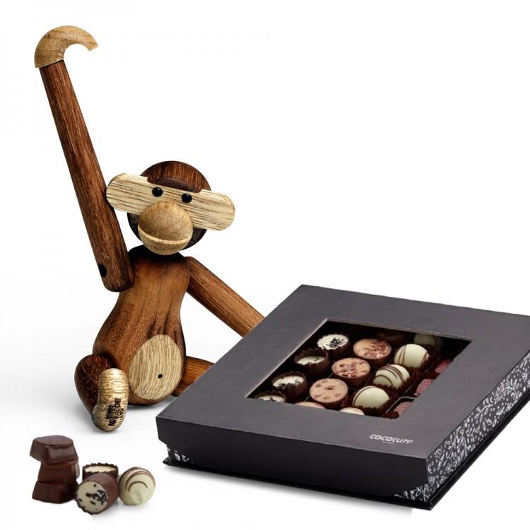 Usædvanlig Kay Bojesen Abe, Mini og Chokolade - VALGFRIGAVE.DK XC48