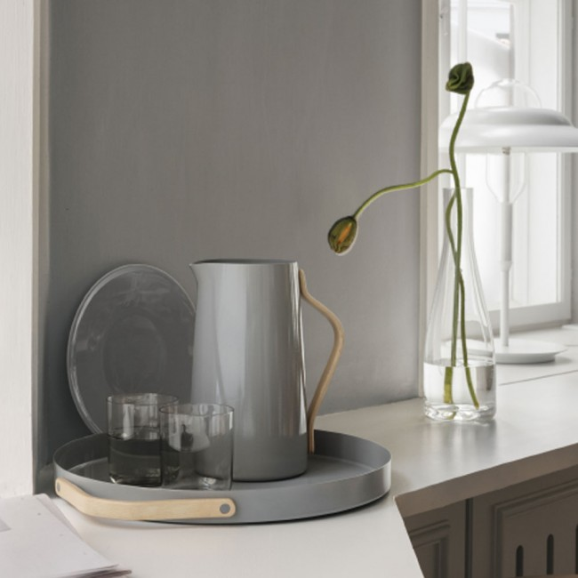 Stelton jug and tray