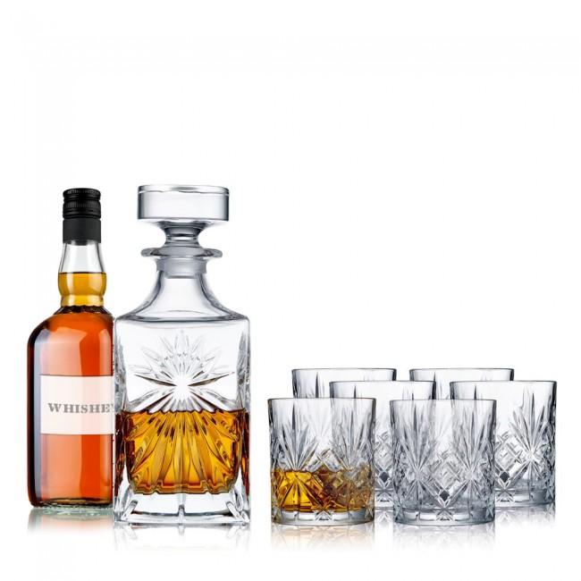 Melodia Whiskey sæt m. whiskey