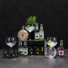 Gin set with glasses
