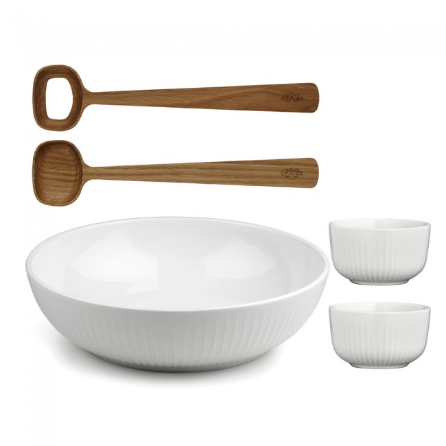 Kähler Hammershøi salad set and bowls
