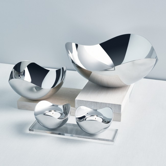 Georg Jensen Bloom Bowls and  Tealights