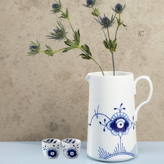 Royal copenhagen jar 1,6l & tealight holders