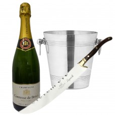 Sabatier Champagne sabel and cooler with Champagne