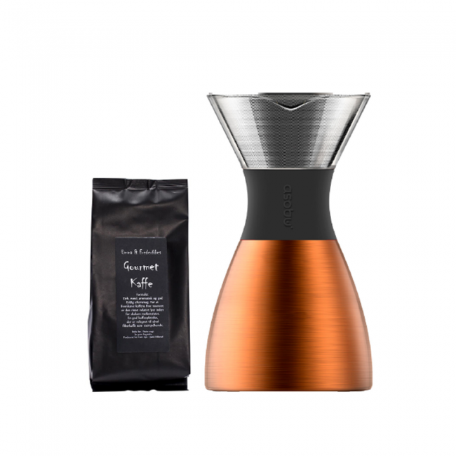 Asobu Pourover and Gourtmet kaffe