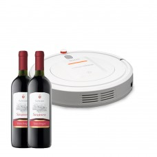 Sogo robotic cleaner and wine
